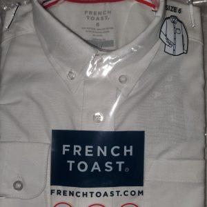 French Toast Uniform Boy Long Sleeve Oxford Shirt