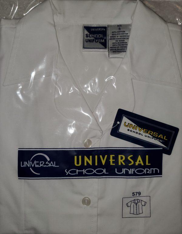 Universal School Uniform Peter Pan White Blouse
