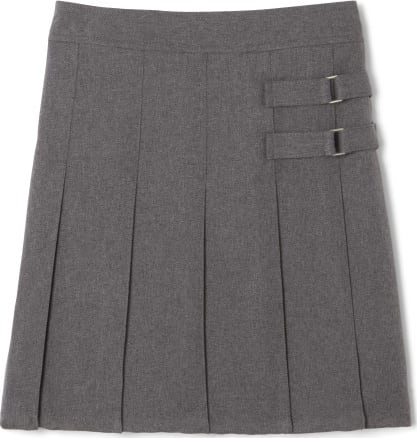 French Toast Scooter- Girls' Two-Layer Pleated Skirt