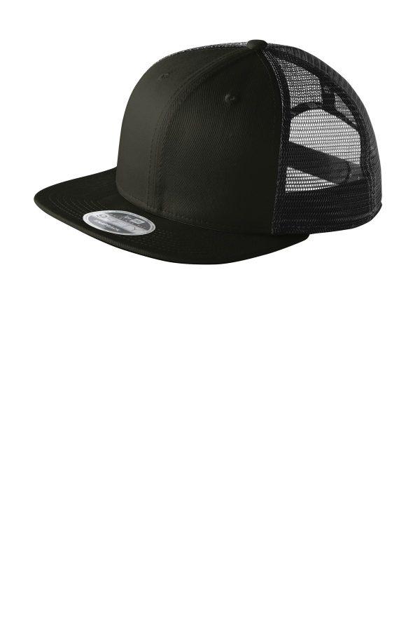 New Era Original Fit Snapback Trucker Cap Black
