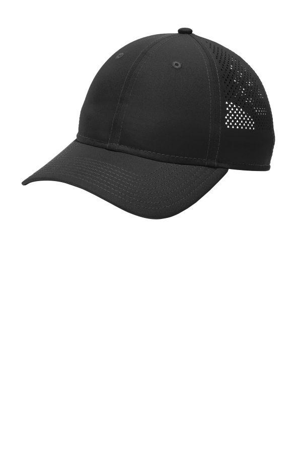 New Era Perforated Performance Cap Black